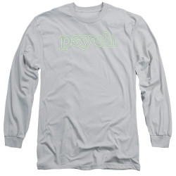 Image for Psych Long Sleeve T-Shirt - Neon Sign
