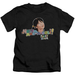 Image for Punky Brewster Kids T-Shirt - Holy Mac a Noli