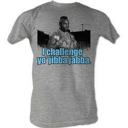 Image for Mr. T T-Shirt - I Challenge Yo' Jibba Jabba