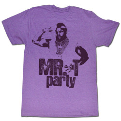 Image for Mr. T T-Shirt - Party