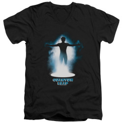 Image for Quantum Leap T-Shirt - V Neck - First Leap
