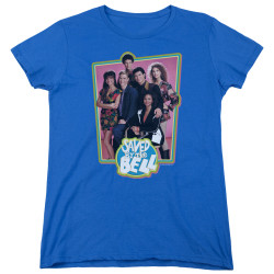 Image for Saved by the Bell Woman's T-Shirt - Blue Cast