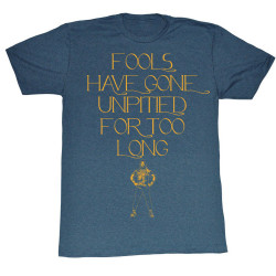 Image for Mr. T T-Shirt - Fools Have Gone Unpitied For Too Long
