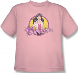 Image for Archie Comics Youth T-Shirt - Veronica Distressed