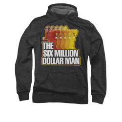 Image for The Six Million Dollar Man Hoodie - Run Fast