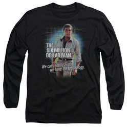 Image for The Six Million Dollar Man Long Sleeve T-Shirt - Technology