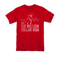 Image for The Six Million Dollar Man T-Shirt - Target