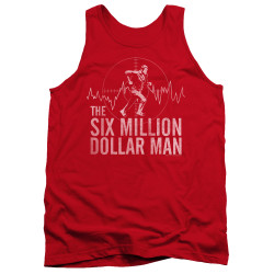 Image for The Six Million Dollar Man Tank Top - Target