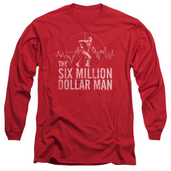 Image for The Six Million Dollar Man Long Sleeve T-Shirt - Target