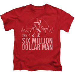 Image for The Six Million Dollar Man Kids T-Shirt - Target