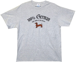 Image for 100% German Down to My Wiener T-Shirt