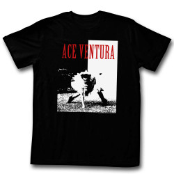 Image for Ace Ventura Pet Detective T-Shirt - Aceface