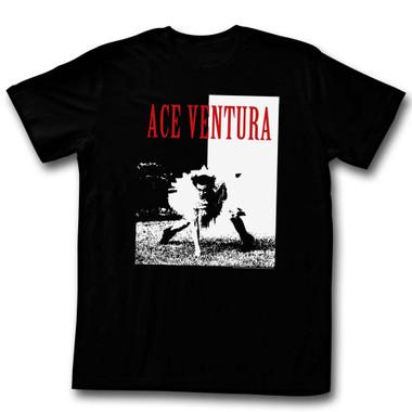 Image for Ace Ventura Pet Detective T-Shirt - Aceface