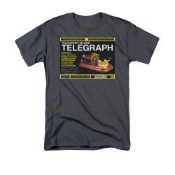 Image for Warehouse 13 T-Shirt - Telegraph Island