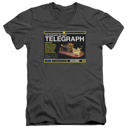Image for Warehouse 13 T-Shirt - V Neck - Telegraph Island
