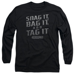 Image for Warehouse 13 Long Sleeve T-Shirt - Snag It