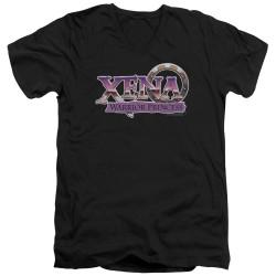 Image for Xena Warrior Princess T-Shirt - V Neck - Logo
