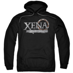 Image for Xena Warrior Princess Hoodie - Battered Logo
