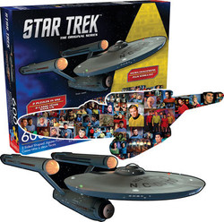 Image for Star Trek Enterprise 2 Sided Puzzle