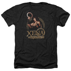 Image for Xena Warrior Princess Heather T-Shirt - Royalty