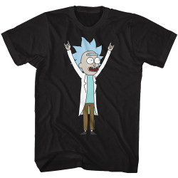 Image for Rick and Morty T-Shirt - Tiny Rick