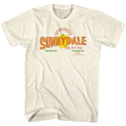 Image for Buffy the Vampire Slayer T-Shirt - Welcome to Sunnydale Sign
