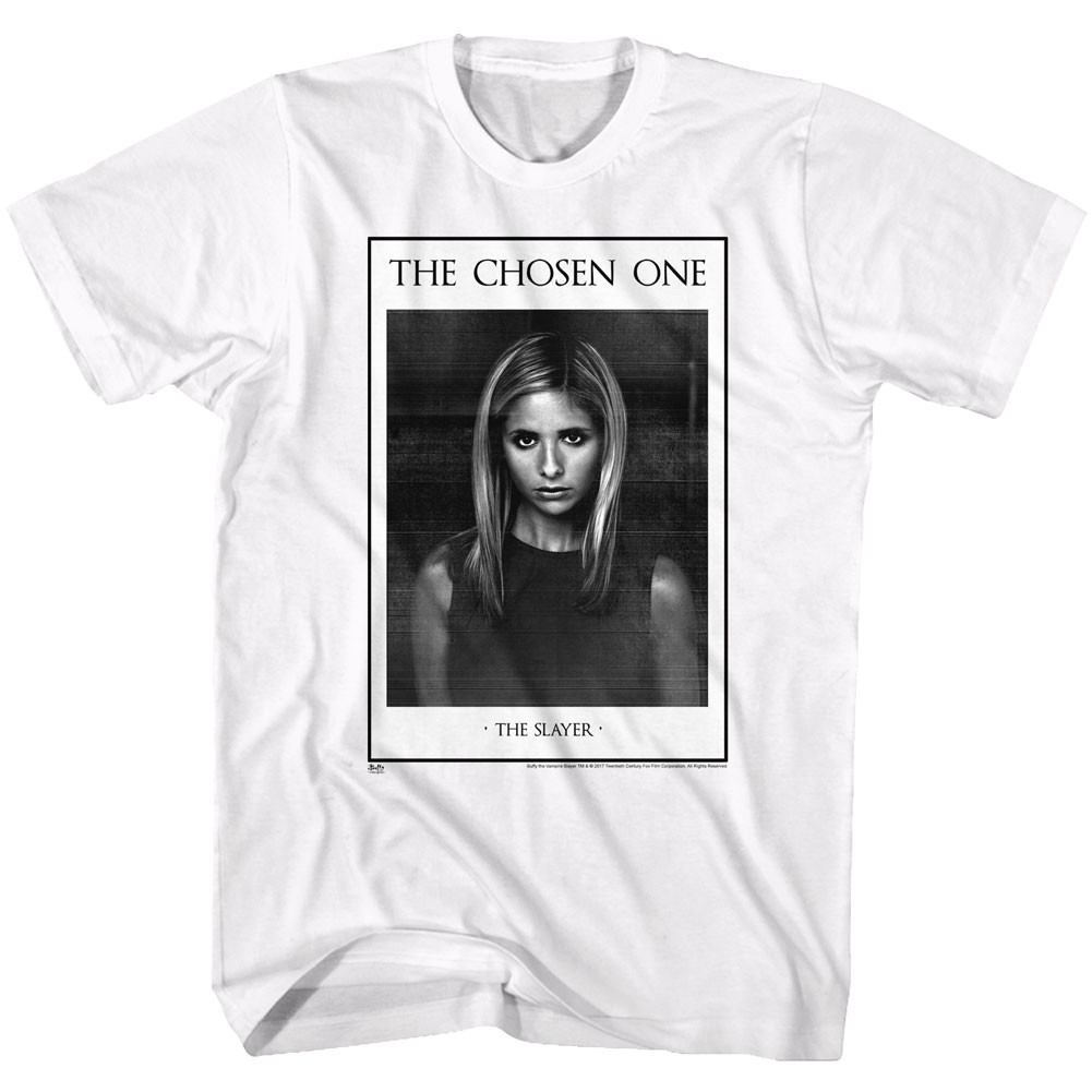84228af9 Buffy the Vampire Slayer T-Shirt - The Chosen One