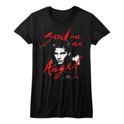 Image for Buffy the Vampire Slayer Send Me an Angel Girls T-Shirt