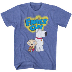Image for Family Guy T-Shirt - Brian and Stewie