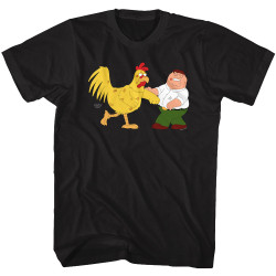 Image for Family Guy T-Shirt - Chicken Fight