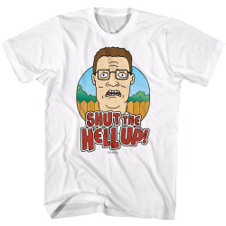 Image for King of the Hill T-Shirt - Shut the Hell Up