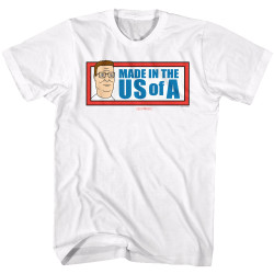 Image for King of the Hill T-Shirt - Made in the US of A