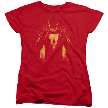 Image for Shazam Movie Womans T-Shirt - The Child Inside