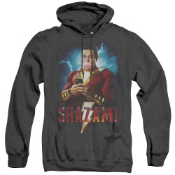 Image for Shazam Movie Heather Hoodie - Blowing Up