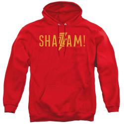 Image for Shazam Movie Hoodie - Flat Logo