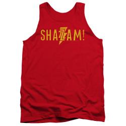 Image for Shazam Movie Tank Top - Flat Logo