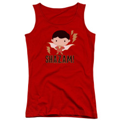 Image for Shazam Movie Girls Tank Top - Chibi