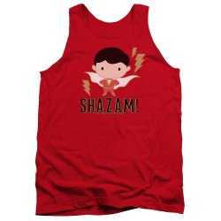Image for Shazam Movie Tank Top - Chibi