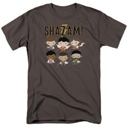 Image for Shazam Movie T-Shirt - Chibi Group