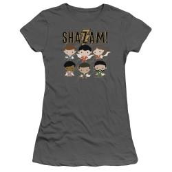 Image for Shazam Movie Girls T-Shirt - Chibi Group