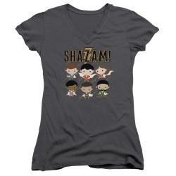 Image for Shazam Movie Girls V Neck - Chibi Group