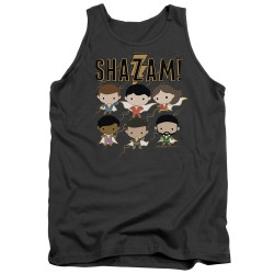 Image for Shazam Movie Tank Top - Chibi Group