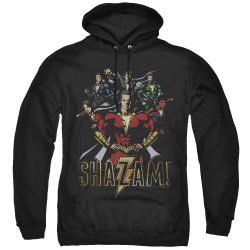 Image for Shazam Movie Hoodie - Group of Heroes