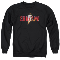 Image for Shazam Movie Crewneck - Logo