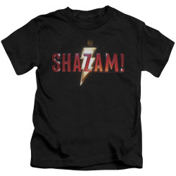 Image for Shazam Kids T-Shirt - Logo