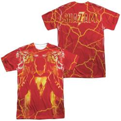 Image for Shazam Movie Sublimated T-Shirt - What's Inside 100% Polyester