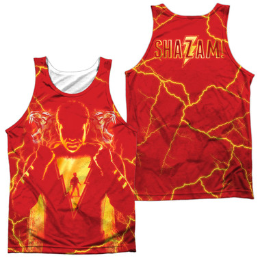 Image for Shazam Movie Sublimated Tank Top - What's Inside