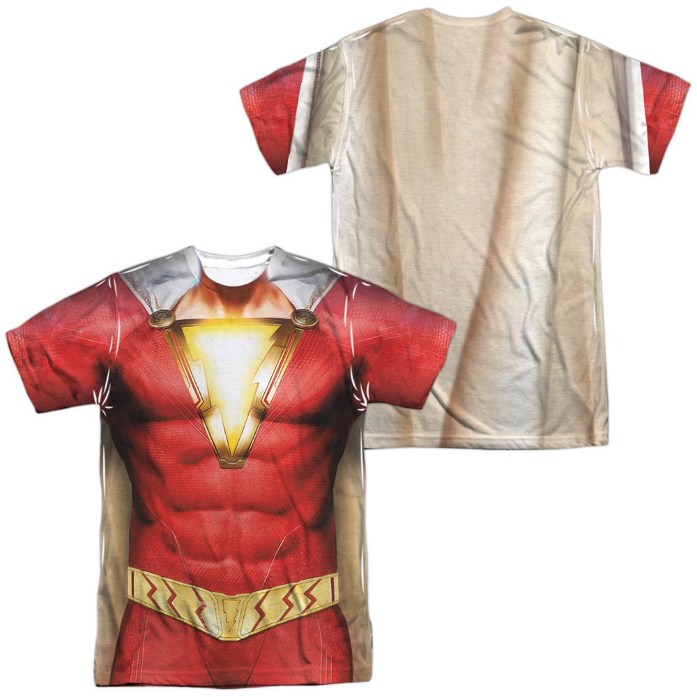 fe65ea78 Shazam Movie Sublimated T-Shirt - Uniform