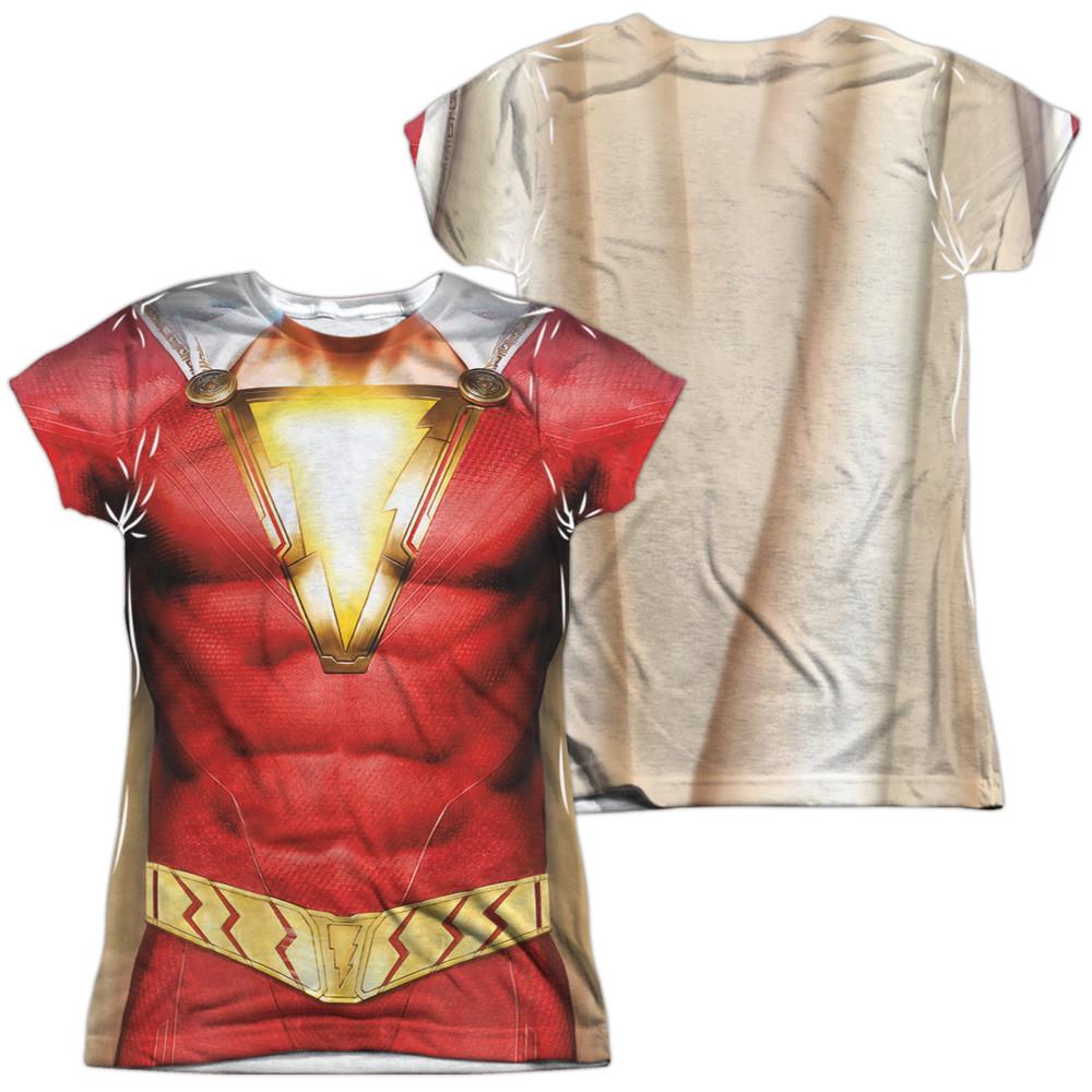 c5ecbb2d9 Shazam Movie Girls T-Shirt - Sublimated Uniform - NerdKungFu
