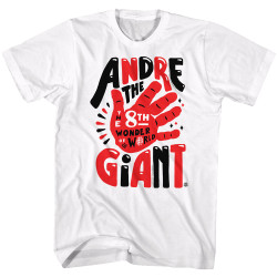 Image for WWE T-Shirt - Andre the 8th Wonder of the World